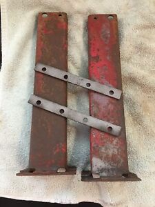 1 set farmall Cub Radiator Side Supports 2 Sides 2 Cross Supports Is A Set