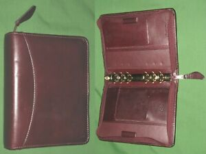 Compact 1 0 Brown Full Grain Leather Franklin Covey Quest Planner Binder 32