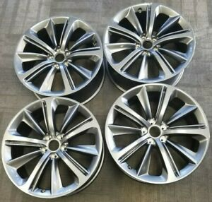20 Infiniti Q60 Coupe Factory Oem Alloy Wheels Rims 2018 20x9