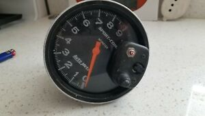 Autometer Sport comp Monster Tachometer 9k Rpm For 4 6 8 Cyl Eng