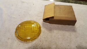 Amber Stop Tail Light Lens Vintage Antique Car Truck Rat Rod Model K d 867 Lamp