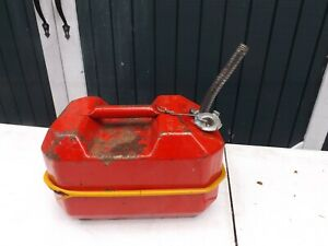 Blitz Metal Usmc 1984 Gas Fuel Can 9 5 Liters 2 1 2 Gallon Jerry Can