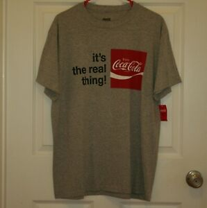 COCA COLA SHIRT  SIZE LARGE   NEW
