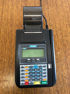 Hypercom T7plus Credit Card Machine With Power Supply