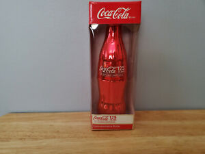COCA COLA 125 Years of Sharing Happiness Commemorative Bottle