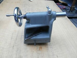 Atlas Craftsman 12 Commercial Lathe Tail Stock Complete