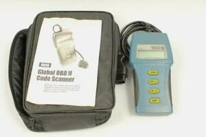 Matco Md9040 Global Obd Ii Scanner W Case Manual Error Message Parts Repair