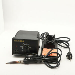 Hakko 936 13 Soldering Station W large Iron 908 And Stand