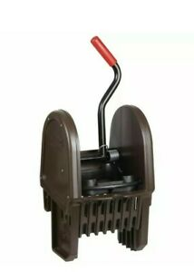 Rubbermaid Black Plastic Down Press Wringer For Wavebrake 35 Qt Mop Bucket