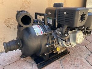 Banjo Centrifugal water Pump With Briggs Stratton Gas Engine