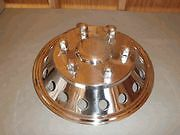 16 Mercedes Benz Sprinter Stainless Steel Wheel Rim Simulator Hubcap Cover