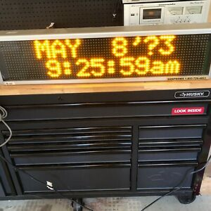 Signtronix Led 2 Retail Business Advertisement Programmable Led Light Up Sign