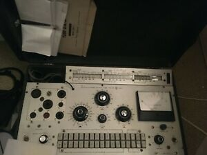 Jackson 658 1 Dynamic Output Tube Tester Match Tubes Gridleak hickok b