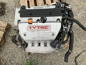 2006 2011 Civic Si K20z3 Engine I Vtec Runs Good Tested K20 K20z3 Fg2 Engine