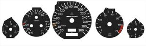 Mercedes R129 Cl W140 S Class Speedometer Cluster Dials Tacho Amg 300km H