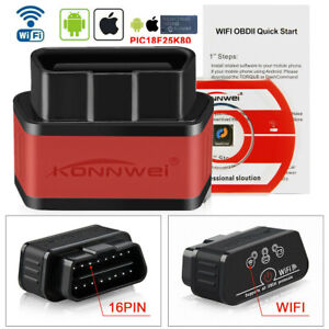 Obd2 Scanner Elm327 Bluetooth Wifi Auto Code Scan Tool For Android Ios