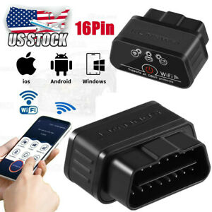 Elm327 Wifi Obd2 Obdii Car Diagnostic Scanner Auto Scan Tool For Pc Iphone Ipad