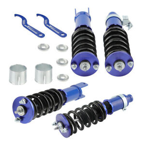 Coilovers Shocks For Honda Acura Civic 92 95 Ex R Sir Coupe Sedan Integra 9401