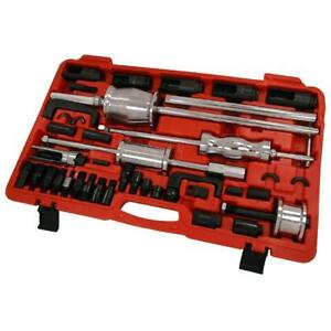 40pc Master Injector Extractor With Common Rail Adaptor Puller Slide Hammer 3507