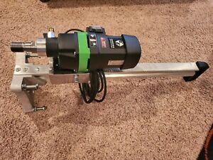 Cs Unitec Dbe 160 Compact Wet Diamond Core Drilling Rig 18 Amp For Holes Up To