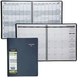 2021 At a glance 70 260 20 15 month Monthly Planner 8 7 8 X 11 Blue Cover