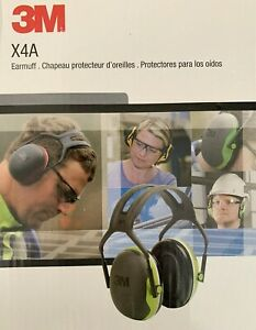 3m X4a Over The Head Earmuff Peltor X Series Ear Protection New In Box