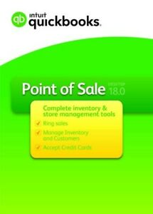 Intuit Quickbooks Point Of Sale V18 0 Pro New From A Premier Certified Reseller