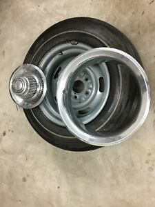 1 Corvette 1973 Az Rally Wheel Ralli Rim With Tire 1968 1969 1970 1971 1973 1974