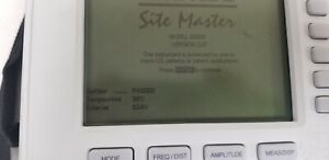 Anritsu S332d Sitemaster Cable And Antenna Analyzer Unit 2 Read