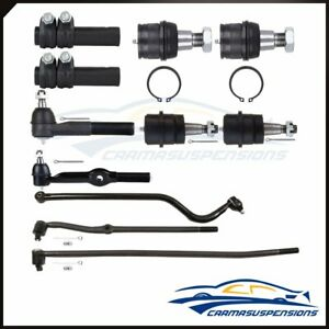 Suspension Ball Joint Tie Rod Track Bar Kit Fits 1994 97 Dodge Ram 2500 4wd