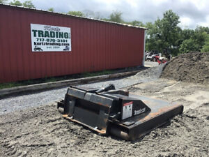 2011 Bobcat 72 Brushcat Hydraulic Mower Attachment For Skid Steer Loaders