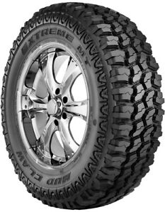 2 New Mud Claw Extreme Mt 35x12 50r17lt E Tire 35 1250 17 35125017