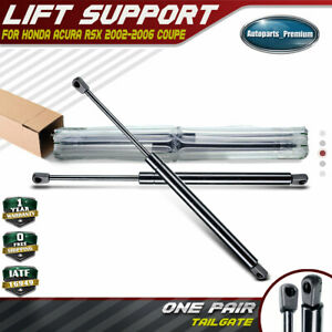 2x Rear Hatch Tailgate Lift Supports Shocks For Acura Rsx Honda 2002 2006 6145