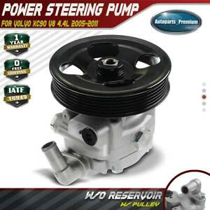 Power Steering Pump W Pulley For Volvo Xc90 V8 4 4l 2005 2011 36000748 21 207