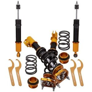 Coilovers Kits For Ford Mustang 4th 1994 2004 Adj Height Mounts Shocks Struts