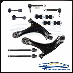 Fits Pontiac Grand Am 10pc Front Rear Sway Bar Lower Control Arm Steering Kit