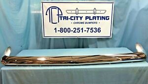 1962 62 Plymouth Fury Belvedere Savoy Rear Bumper Show Quality Chrome
