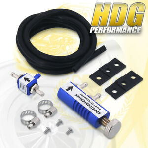 New Universal Blue In Cabin Adjustable 1 30 Psi Jdm Turbo Boost Controller