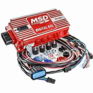 Msd Digital 6al Ignition Box Multi Spark Discharge Adjustable Rev Limiter