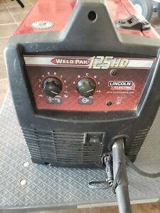 Lincoln Electric Mig Welder 125hd