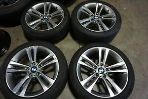 18 Bmw 3 4 Series Factory Oem Wheels Rims Continental Tires 71540 86188