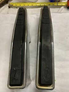 67 72 1967 1972 Ford Truck Full Size Front Bumperettes Bumper Guards Oem