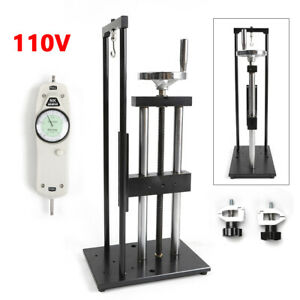 Vertiucal Machine Screw Test Max Load 500n Stand Push pull Force Gauge
