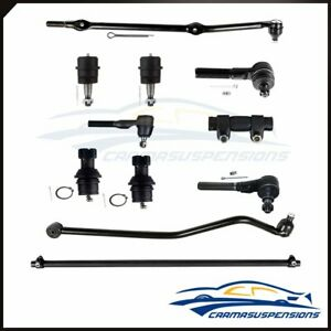 1993 1998 For Jeep Grand Cherokee 4 0l 11pcs Front Tie Rods Track Bar Ball Joint