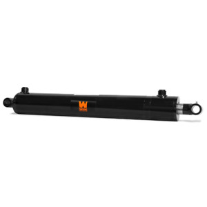 Wen Cross Tube Hydraulic Cylinder With 2 5 In Bore And 12 In Stroke Sae 8 Port