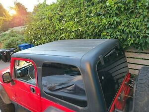 Jeep Wrangler Tj Hard Top Oem Excellent Condition All Parts Working