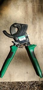 Greenlee 45206 Ratchet Action Cable Cutter 10 Center Cut Usa