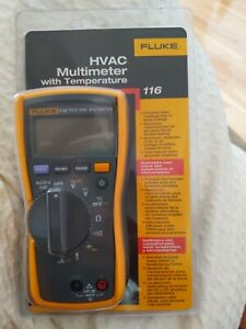 New Fluke 116 Hvac Multimeter With Temp Original Package