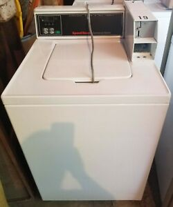 Used Commercial Speed Queen 14lb Top Load Coin Drop Washer