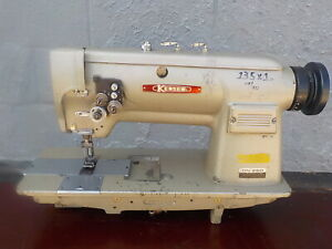 Industrial Sewing Machine Kensew Dn 260 Two Needle leather